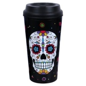 Day of the Dead Double-Wall To Go Tumblers, 16 oz.